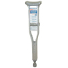 rehabilitation devices: McKesson - Underarm Crutch SunMark® Performance Aluminum Adult 300 lbs.