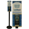 Safehands Sanitizer Floor Stand MON 49592700