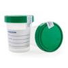 Specimen Collection: McKesson - Specimen Container Polypropylene / Polyethylene Screw Cap 120 mL (4 oz.) Sterile