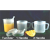 Fabrication Enterprises Mug PSC 8 oz. Clear Plastic MON 60117700