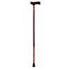 Apex-Carex Standard Cane Designer Aluminum 31 to 40 Red MON 61443801