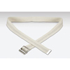 Val Med Transfer Belt 60 Inch White Cotton MON 64603000