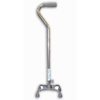 McKesson Quad Cane sunmark® Aluminum 29-1/2 to 38 Inch Chrome MON 67423800
