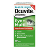 Valeant Pharmaceuticals Eye Vitamin with Lutein Supplement Occuvite Eye + Multi 1000 IU / 150 mg Strength Tablet 60 per Bottle MON 73512700