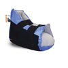 Sage Products: Sage Products - Heel Protector Boot Prevalon Heel Protector I One Size Fits Most Black / Blue