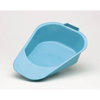 bedpans & commodes: Medical Action Industries - Fracture Bedpan Medegen Blue 1 Quart Female