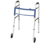 Apex-Carex Classics Dual Button Walker with Wheels MON 87973800
