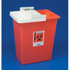 Hazardous Waste Control: Medtronic - SharpSafety™ Sharps Container Slide Lid, Red 8 Gallon