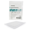 "Outdoor Receptacles Island Convenience Centers: McKesson - Adhesive Island Dressing 6"" x 8"" Polypropylene / Rayon Rectangle 4"" x 6"" Pad White Sterile"