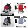 Wheelchair Solutions Seat Cushion Wheelie Styles® Cotton - Polka Dot MON 90074201