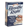 Glaxo Smith Kline Nasal Strips Breathe Right 30 per Box Strip MON 91682700
