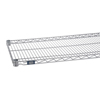 metal shelving units: Nexel Industries - Silver Grey Epoxy Finish Wire Shelf