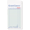 National Check National Checking Company™ Guest Check Pad NTC G6000