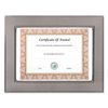 Nu Dell NuDell™ Gunmetal Document/Photo Frame NUD 15143