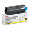 Okidata Oki 42127401 High-Yield Toner (Type C6), 5000 Page-Yield, Yellow OKI 42127401
