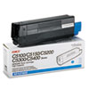 Okidata Oki 42127403 High-Yield Toner (Type C6), 5000 Page-Yield, Cyan OKI 42127403