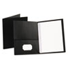 Oxford Oxford® Twin-Pocket Portfolios with Tang Fasteners OXF 57706