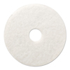 Boardwalk Standard 12 Diameter Polishing Floor Pads BWK 4012WHI