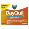 Cough Cold Cough Syrup: Vicks® DayQuil™ Cold & Flu LiquiCaps