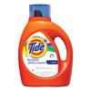 cleaning chemicals, brushes, hand wipers, sponges, squeegees: Tide® Liquid Laundry Detergent plus Bleach Alternative