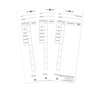 Pyramid Time Cards for the 4000 and 4000HD Series Time Clocks PMD 44100-10