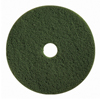 Floor Care Equipment: Boss Cleaning Equipment - Green Scrubbing Pads