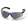 eye protection: Pyramex Safety Products - Mini Ztek® Eyewear Blue Mirror Lens with Blue Mirror Frame