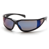 Pyramex Safety Products Exeter® Eyewear Blue Mirror Anti-Fog Lens with Black Frame PYR SB5175DT