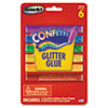 The Board Dudes RoseArt® Confetti Glitter Glue Sticks RAI 48310
