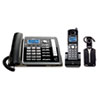 RCA RCA® ViSYS™ 25270RE3 Two-Line Corded/Cordless Phone System with Cordless Headset RCA 25270RE3