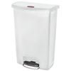 Rubbermaid Commercial Rubbermaid® Commercial Slim Jim® Resin Step-On Container RCP 1883561