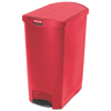 Rubbermaid Commercial Rubbermaid® Commercial Slim Jim® Resin Step-On Container RCP 1883571