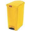 Rubbermaid Commercial Rubbermaid® Commercial Slim Jim® Resin Step-On Container RCP 1883580