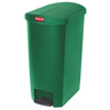 Rubbermaid Commercial Rubbermaid® Commercial Slim Jim® Resin Step-On Container RCP 1883587