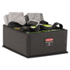 Janitorial Carts, Trucks, and Utility Carts: Rubbermaid® Commercial Executive Quick Cart Caddy