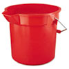 Rubbermaid Commercial Brute® Utility Pail RCP 2614 RED