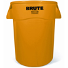 Rubbermaid Commercial Vented Round Brute® Container RCP 2643-60 YEL