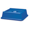 Rubbermaid Commercial Untouchable® Recycling Tops RCP 2791 BLU