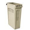 Recycling Containers: Rubbermaid® Commercial Slim Jim® with Venting Channels
