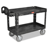 Rubbermaid Commercial Heavy-Duty Utility Cart RCP 454610BLA
