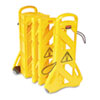 Wet Floor Signs Folding Signs: Rubbermaid® Commercial Portable Mobile Safety Barrier