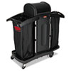 Janitorial Carts, Trucks, and Utility Carts: High-Security Housekeeping Cart
