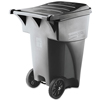 Rubbermaid Commercial Brute® Roll-Out Heavy-Duty Container RCP 9W22 GRA