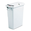 Rubbermaid Commercial Slim Jim® Confidential Document Waste Receptacle with Lid RCP 9W25 GRA