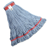 Rubbermaid Commercial Web Foot® Wet Mop Heads RCP A113 BLU
