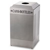 recycling and trash liners: Silhouette Square Recycling Collection