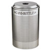 recycling and trash liners: Rubbermaid Commercial® Silhouette Round Recycling Collection
