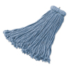 Rubbermaid Commercial Rubbermaid® Commercial Premium Bolt-On Cut-End Blended Mop RCP F567BLU