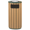 Rubbermaid Commercial Rubbermaid® Commercial Regent 50 Series Ash/Trash Waste Receptacle RCP R23SU50PL