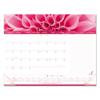 Rediform Brownline® Pink Ribbon Monthly Desk Pad Calendar RED C1832PNK
